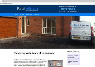 Paul Allman Plastering