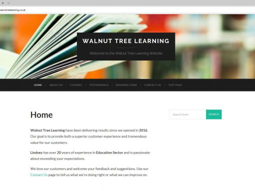 Walnut Tree Learning